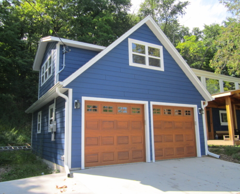 New Garage Builds J.D. Griffiths
