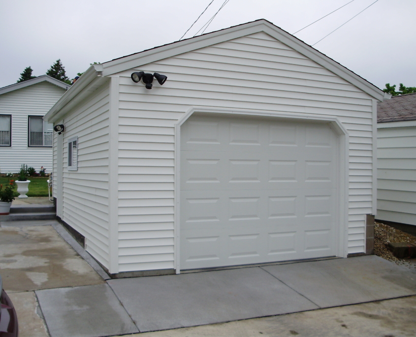 New Garage Builds J.D. Griffiths Milwaukee WI