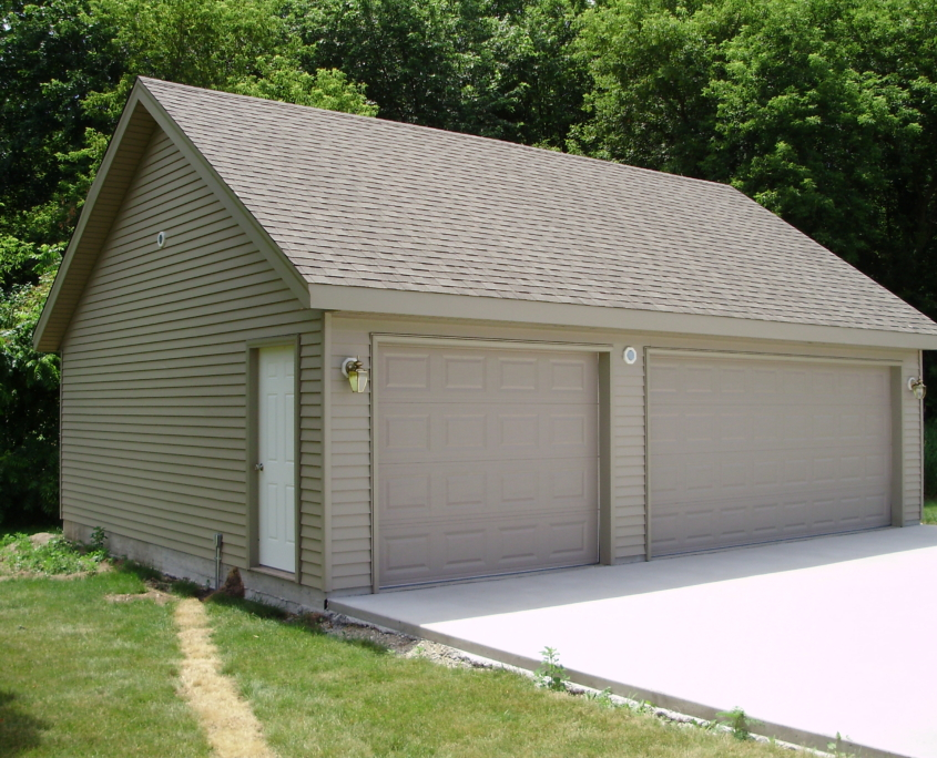 Reverse Gable New Garage Builds JD Griffiths