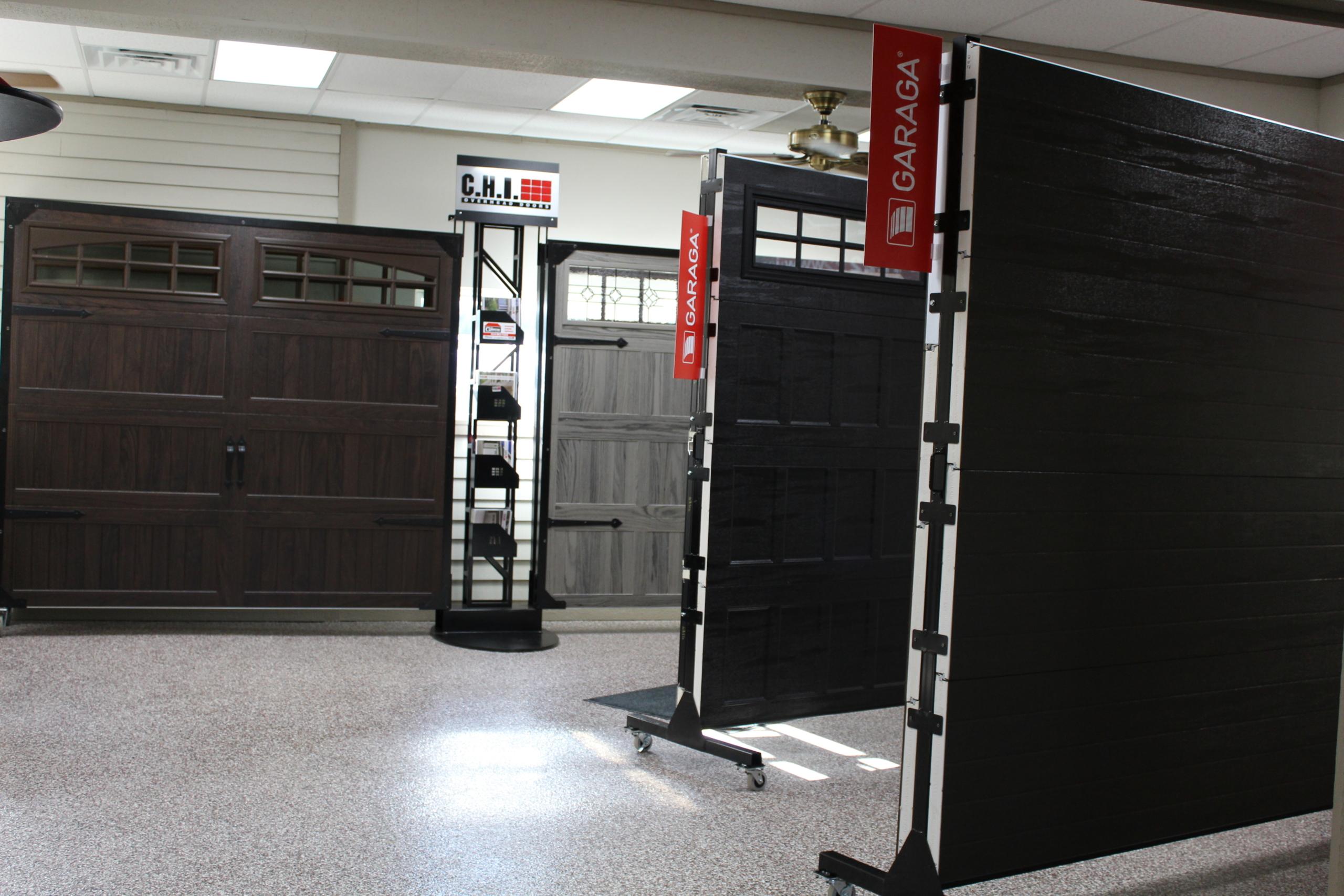 C.H.I Garage Doors JD Griffiths Showroom