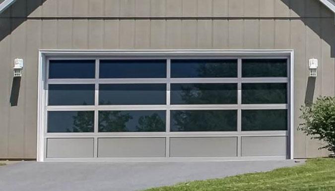 Full view garage door JD Griffiths