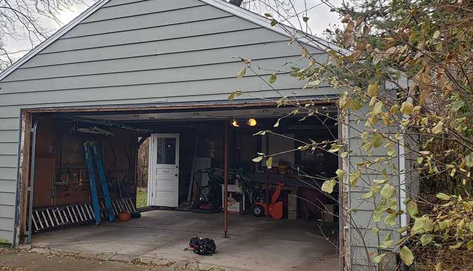 Garage Remodel Before Picture JD Griffiths