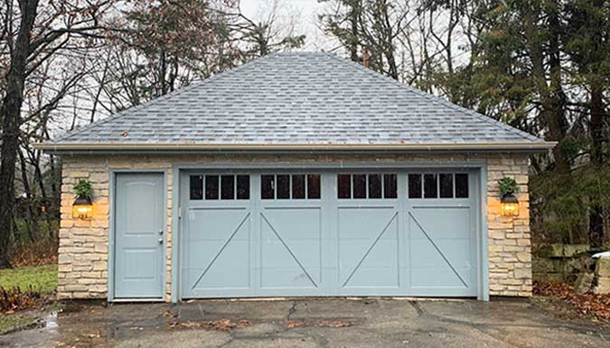 New Garage Builds JD Griffiths