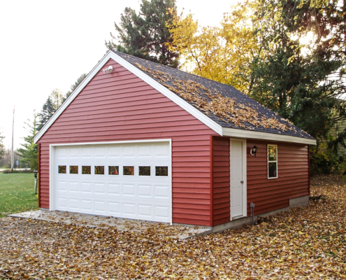 JD Griffiths Gable roof 2.5 car garage